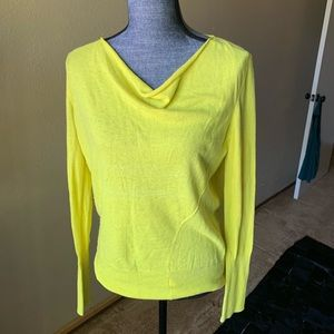 Calvin Klein slouch neck sweater (size S)